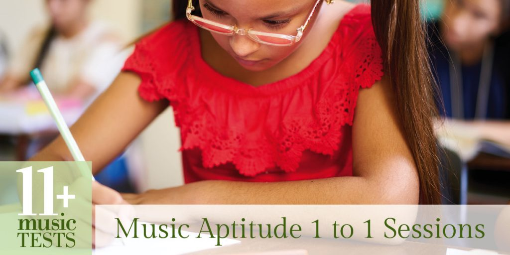 SW Herts Music Aptitude 1 to 1 Sessions – 11 Plus Music Tests