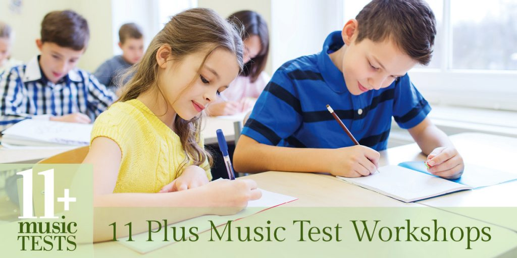 11 Plus Music Test Workshops – for the South West Herts Consortium of Schools
